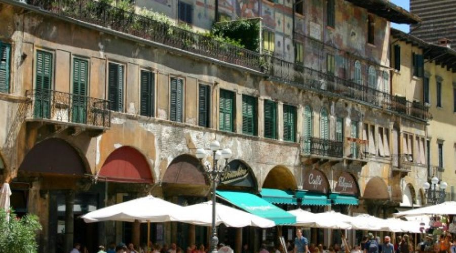 Piazza delle Erbe and its magnificent monuments
