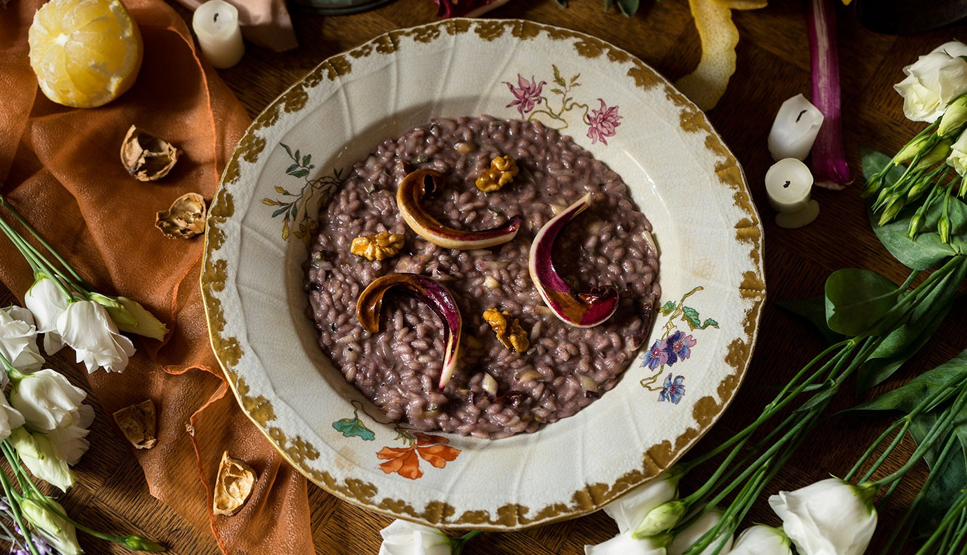 A special dish from Verona: the Amarone Risotto